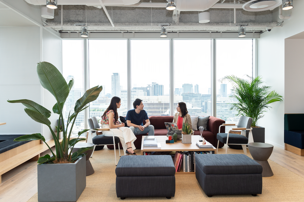 WeWork community are