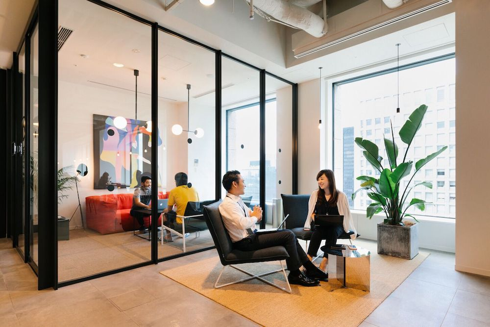 WeWork Community area