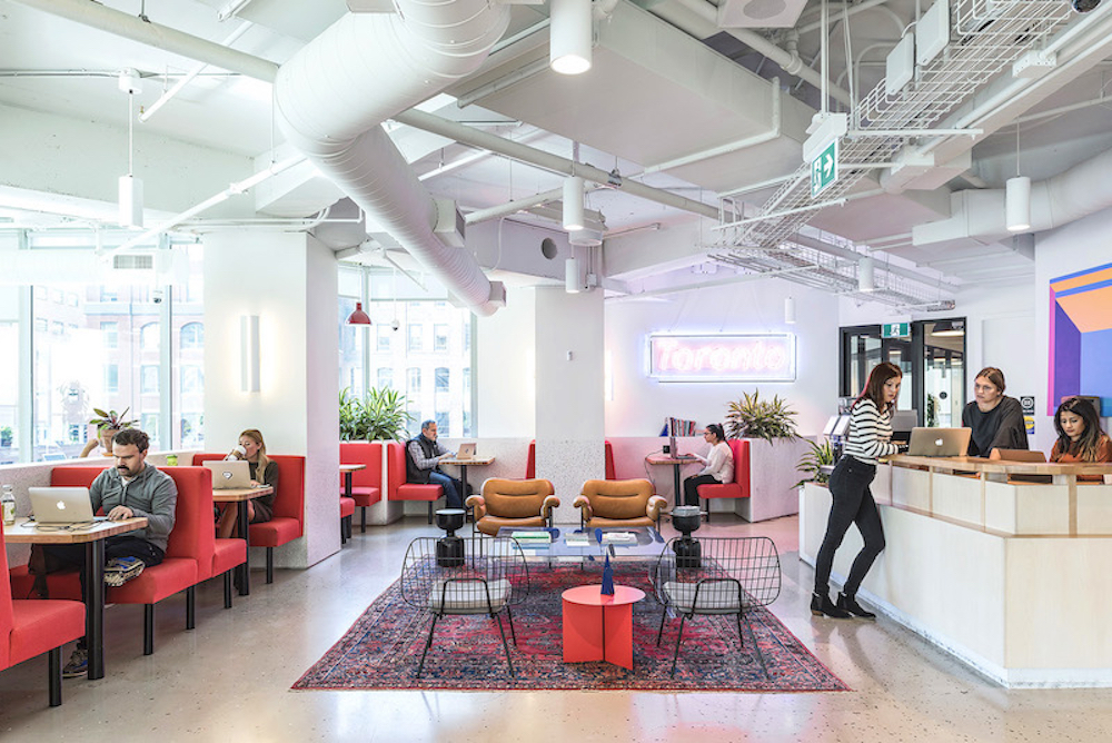 WeWork Royal Bank of Canada