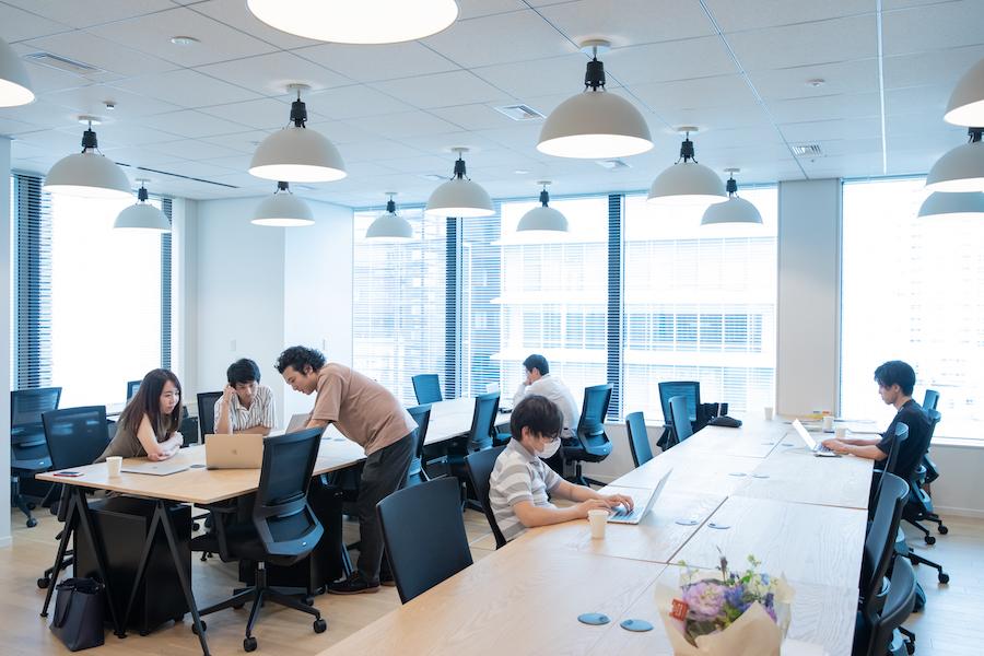 WeWork the ARGYLE aoyama ABEJA Office