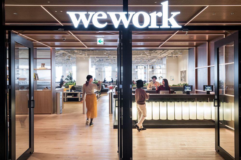 WeWork 入り口