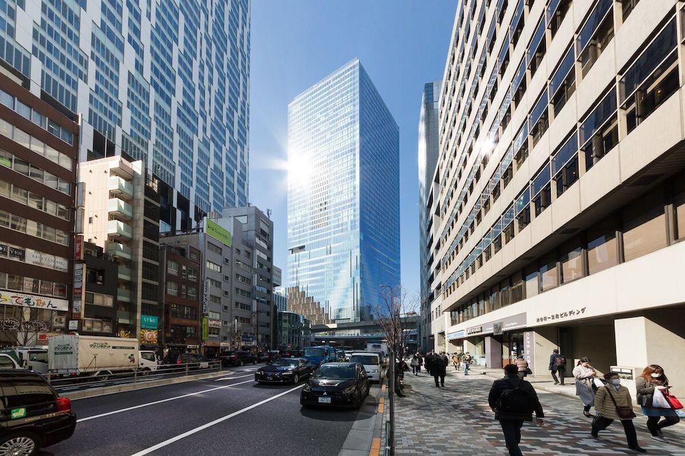渋谷スクランブルスクエア 外観