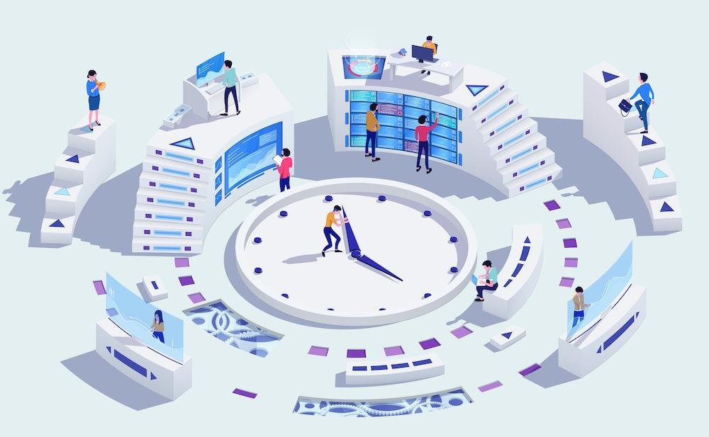 システムの構築 イメージ
