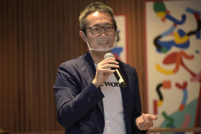 プレスリリース 渋谷区 WeWork 佐々木