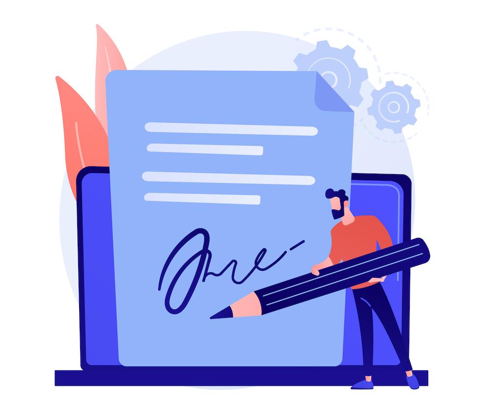 電子契約 イメージ