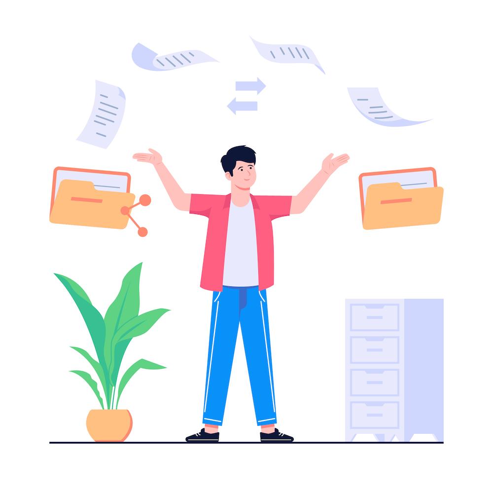 文書管理 イメージ