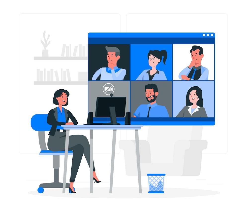 オンライン会議 イメージ